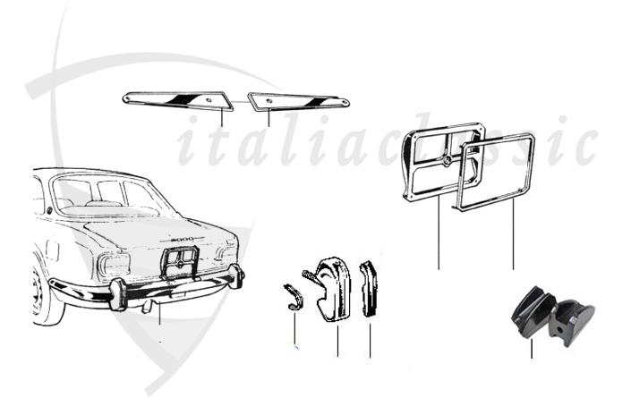 Alfa Romeo / Giulia/Berlina/Bertone/Spider / Karosserie