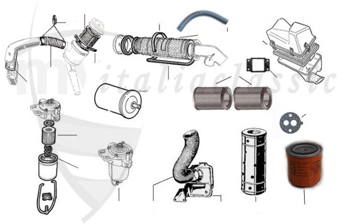 Engine / Giulia-Berlina/Bertone/Spider 105-115 / Alfa