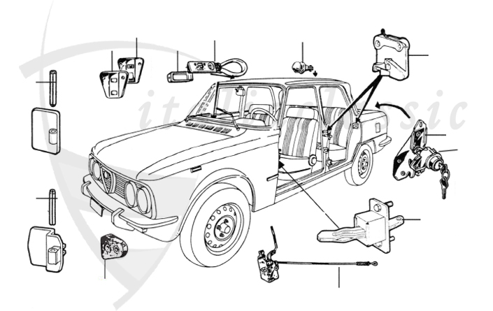 1977 Fiat 124 Spider Wiring Diagram Pictures to Pin on