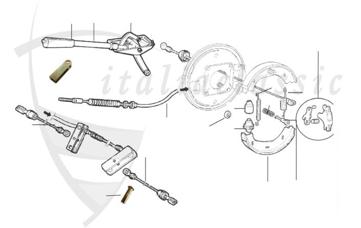 Alfa Romeo / Giulia/Berlina/Bertone/Spider / Bremsanlage