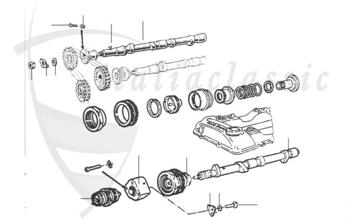 Alfa Romeo / Giulia/Berlina/Bertone/Spider / Motor