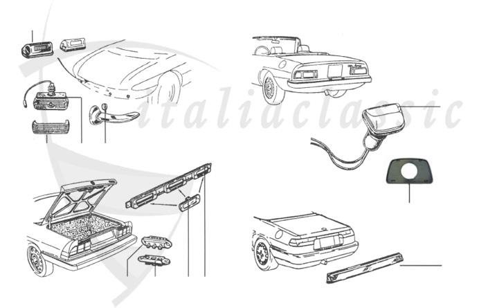 Alfa Romeo / Giulia/Berlina/Bertone/Spider / Elektrik