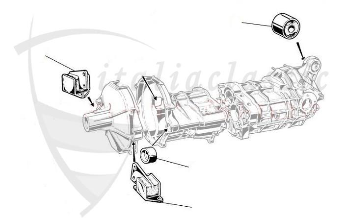 Alfa Romeo / GTV4/GTV6/Alfetta/Giulietta 116