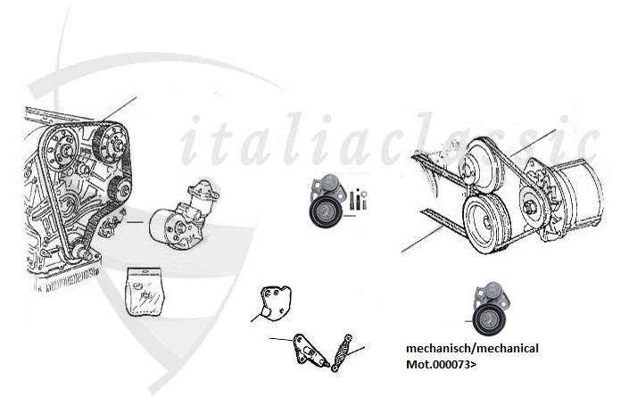 Alfa Romeo / 75/155/156/164/166/ GT-GTSpider 916 / Motor