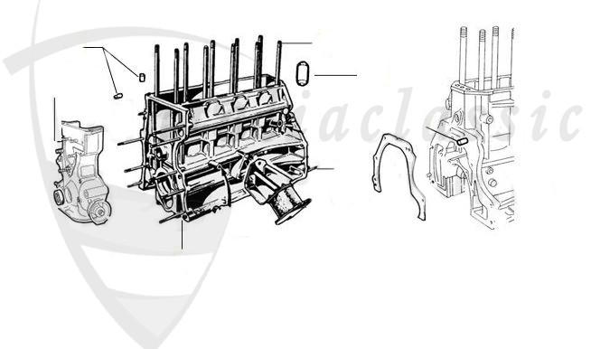 Alfa Romeo / GTV4/GTV6/Alfetta/Giulietta 116 / Motor