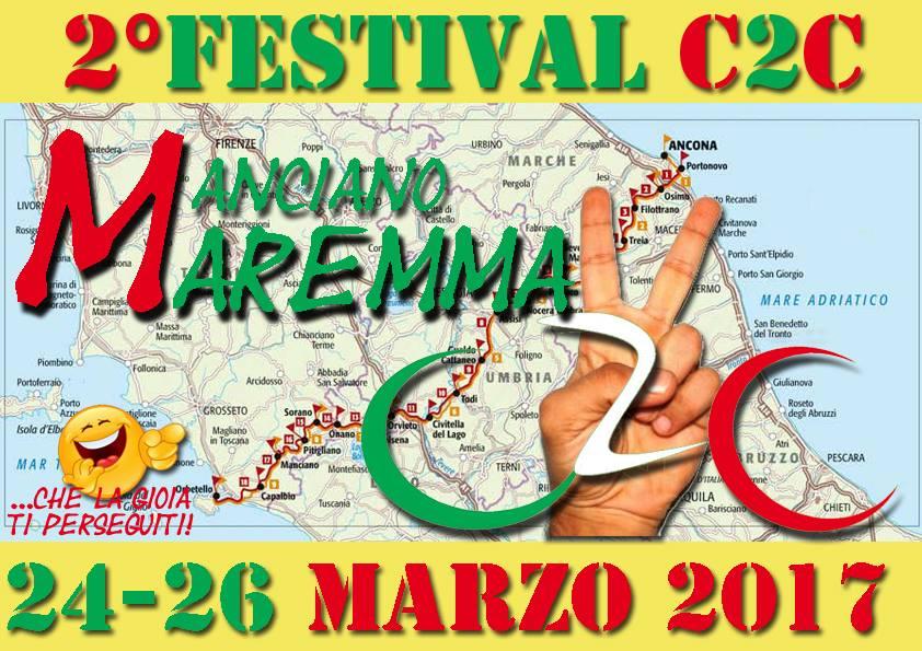 2° FESTIVAL DEL C2C a Manciano