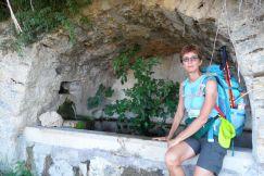 Antica fontana uscendo da Civitella