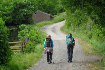 Sentiero verso Grotte di Castro
