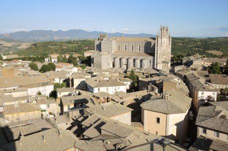 Orvieto vista dalla torre del Moro