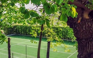 Prive-tennisbaan