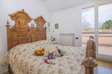Slaapkameer met 2-persoonsbed