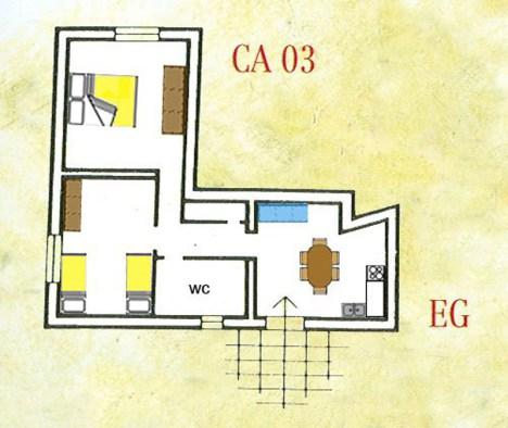 Appartement Nobile   Plattegrond