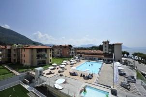 Residence met zwembad en kinderbad