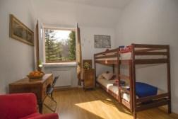 Slaapkamer met stapelbed