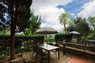 Appartement Brunello | Prive-terras en tuin