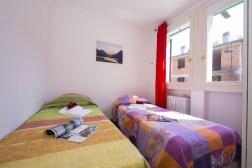 Appartement Dalia 2   Slaapkamer 3 met twee 1-persoonsbedden