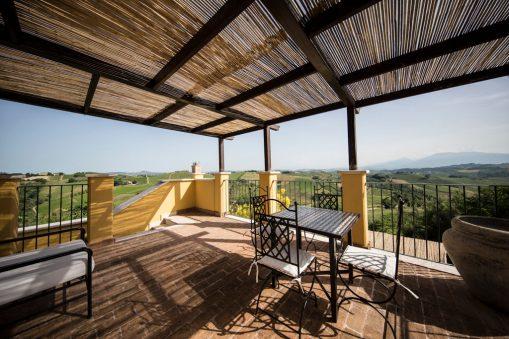 Appartement Giglio | Prive-terras met fantastisch uitzicht