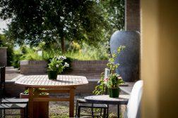 Appartement Lavanda | Prive-terras aan de achterkant van het appartement