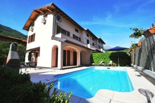 Het huis met prive-zwembad