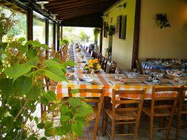 maDe agriturismo heeft een eigen restaurant