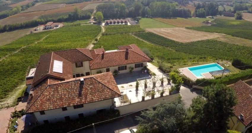 AppartemenAt op een wijnboerderij met zwembad in Piemonte, Noord-Italie