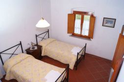 Appartement Michelangelo   Slaapkamer 2 met twee 1-persoonsbedden