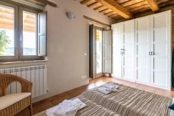 Slaapkamer met twee 1-persoonsbedden a
