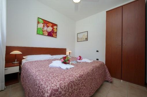 Appartement Dalia 1 | Slaapkamer 1 met 2-persoonsbed