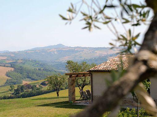 Vakantiehuis Falerio met fantastisch uitzicht