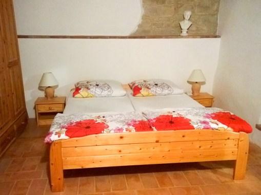 Vakantiehuis Alloro | Slaapkamer 1 met 2-persoonsbed