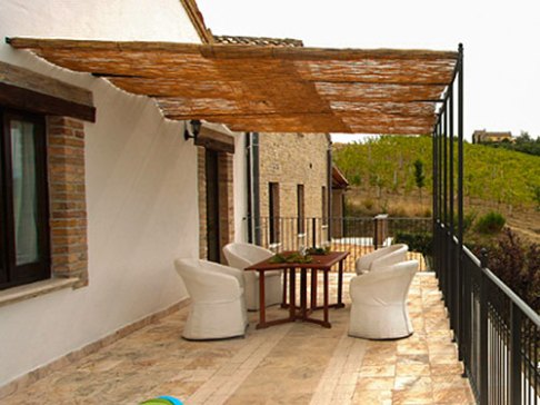 Appartement Iperico | Groot terras met prachtig uitzicht