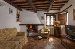 Vakantiehuis Noce | Sfeervolle woonkamer