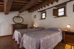 Vakantiehuis Noce   Slaapkamer met twee 1-persoonsbedden