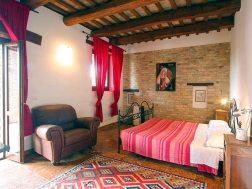 Appartement Menta | Slaapkamer met 2-persoonsbed