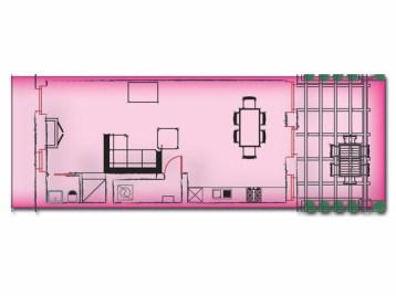 Vakantiehuis Verdicchio | Benedenverdieping