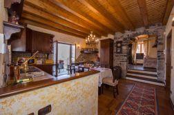 Groet sfeervolle keuken