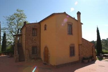Appartement Giotto | Het appartement ligt op de begane grond van dit gebouw