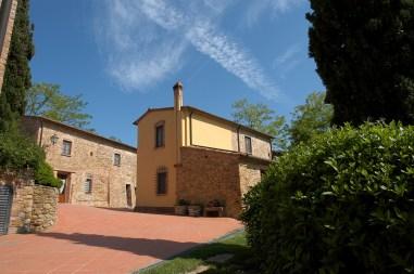 Appartement Giotto | Het appartement ligt op de begane grond van het gebouw aan rechts