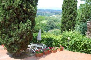 Appartement Botticelli | Het appartement heeft een eigen terras op de begane grond