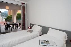 Appartement Edera 4 | Slaapkamer 2 met twee 1-persoonsbedden