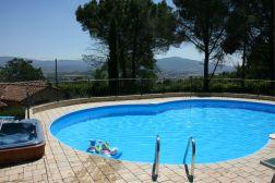 Het prive-zwembad