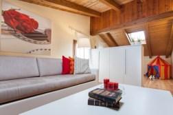 Slaapkamer 4 met 4 slaapbanken en speelhoek