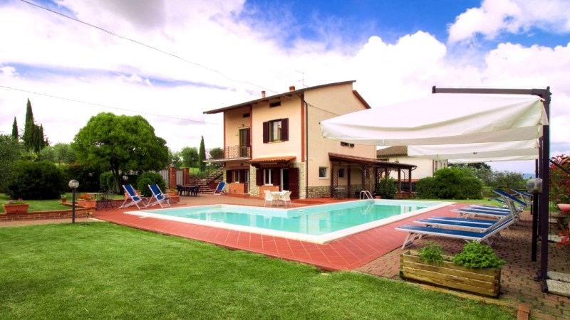 kindvriendelijke villa umbrie