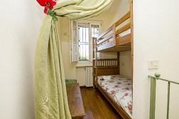 Slaapkamer 3 met stapelbed