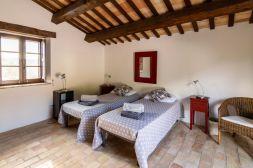 Slaapkamer 4 met twee 1-persoonsbedden