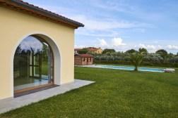 De villa en het prive-zwembad