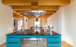 Keuken en eetkamer huis 1