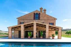 De villa met prive-zwembad