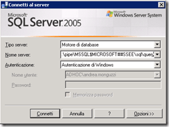 Come spostare i database e metadata di WSUS su un altro volume