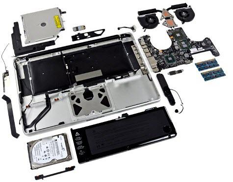 MacBookPro iFixit 0001 Il nuovo MacBook Pro smontato e messo a nudo da iFixit